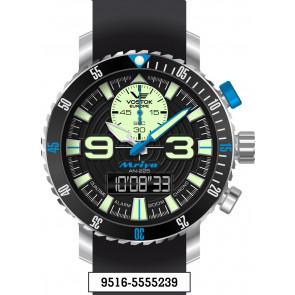 Vostok Europe Mriya Multifunctional Black 9516-5555239