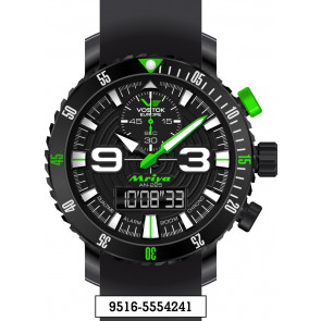 Vostok Europe Mriya Multifunctional Black 9516-5554251