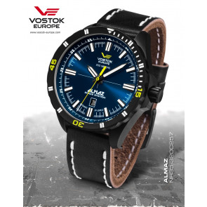 Vostok-Europe Almaz 320C257 Leather-Strap