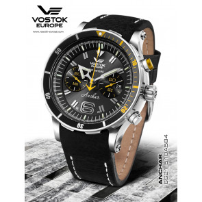 Vostok Europe Anchar Chronograph 510A584 Leatherstrap