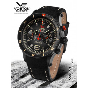 Vostok Europe Anchar Chronograph 510C582 Leatherstrap