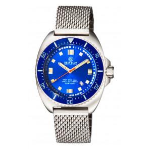 Deep Blue Deep Star 1000 Swiss Automatic Steel– Diver Blue