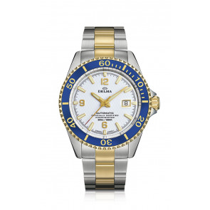 Delma Santiago Chronometer T.T. Automatic White