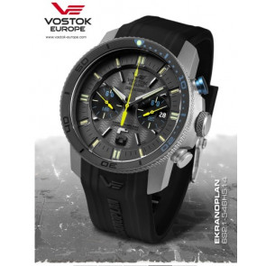 Vostok Europe Ekranoplan Chronograph 546H514 Silicone
