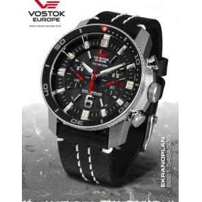 Vostok Europe Ekranoplan Chronograph 546A508 Leather