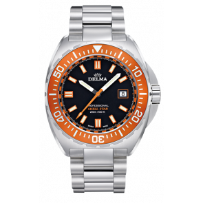 Delma Shell Star 200 m Orange Steel