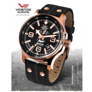 Vostok Europe Expedition Northpole 595B536 Leather Strap