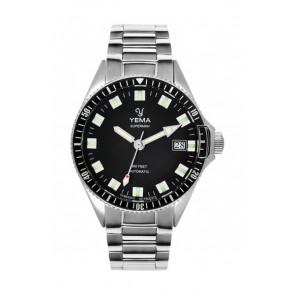 Yema Superman Automatic YMHF1550A-AS24 Steel Bracelet