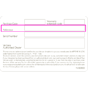 Versace 87Q99SD497-S009