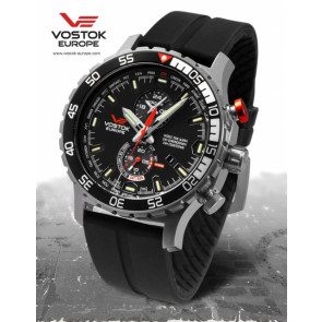 Vostok Europe Expedition Everest Underground  597A549 Siliconestrap
