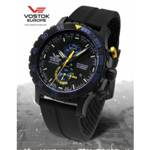 Vostok Europe Expedition Everest Underground  597C547 Siliconestrap