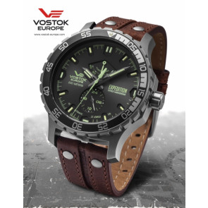 Vostok Europe Expedition Everest Underground 597A543 Leatherstrap