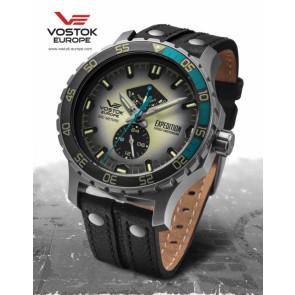 Vostok Europe Expedition Everest Underground 597A544 Leatherstrap