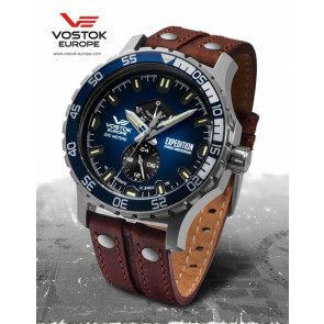Vostok Europe Expedition Everest Underground 597A545 Leatherstrap