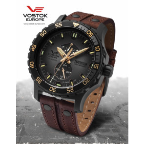 Vostok Europe Expedition Everest Underground 597D541 Leatherstrap