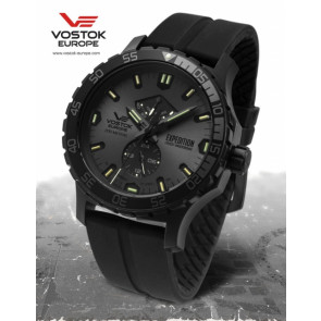 Vostok Europe Expedition Everest Underground 597D542 Siliconestrap