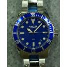 Armida A2 blue dial polished case