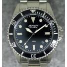 Armida A2 Black Dial Brushed Case