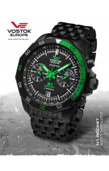 Vostok-Europe 2254252 Steelbracelet