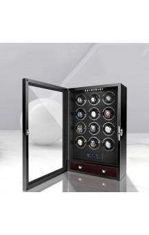 Maubuchi LCD Highend Touchscreen 12 positions Watch Winder For 12 Ure