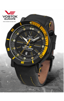Vostok Europe Big Z Black Edition NH35A-6204344 Black Strap