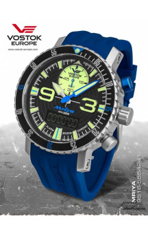Vostok Europe Mriya Multifunctional Blue 9516-5555249