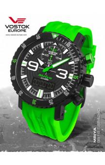 Vostok Europe Mriya Multifunctional Green 9516-5554251