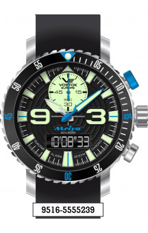 Vostok Europe Mriya Multifunctional Black 9516-5555239