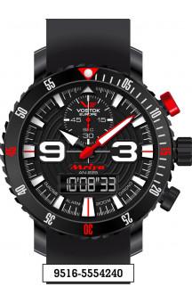 Vostok Europe Mriya Multifunctional Black 9516-5554240