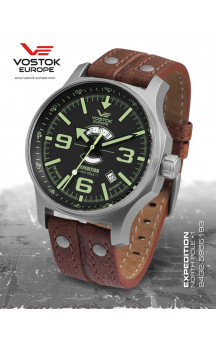 Expedition Northpole 5955193 Leather Strap