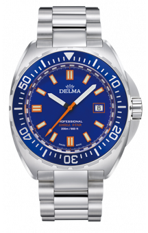 Delma Shell Star 200 m Blue Steel