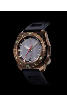 Zelos Hammerhead Bronze Submarine Dial