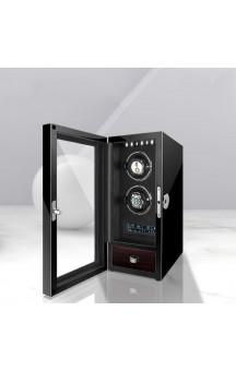 Maubuchi LCD Highend Touchscreen 2 positions Watch Winder For 2 Ure