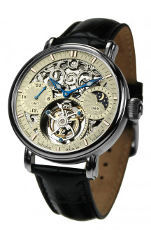 Poljot International Tourbillon Skeleton 3360.T05