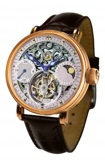 Poljot International Tourbillon Skeleton 3360.T40