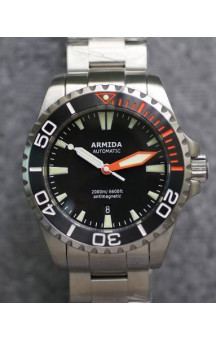 Armida A4 Black Dial