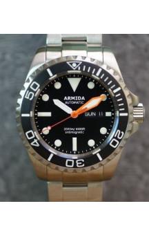 Armida A4 black dial ETA 2836-2