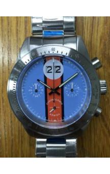 Armida A10 blue dial Steel Bezel