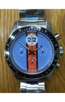 Armida A10 Blue Dial Black Bezel