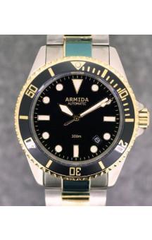 Armida A2 black dial two tone