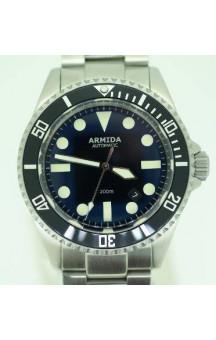 Armida A2 Swiss ETA 2824 Black Dial