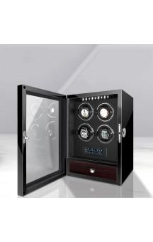 Maubuchi LCD Highend Touchscreen 4 positions Watch Winder For 4 Ure