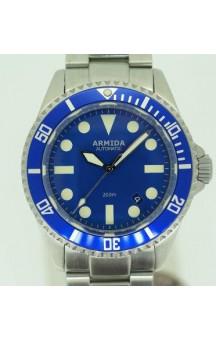 Armida A2 Swiss ETA 2824 Blue Dial