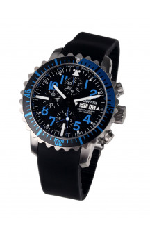 Fortis 671.15.45 K B-42 Marinemaster Blue