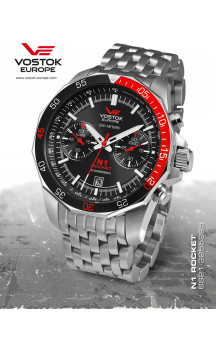 Vostok Europe Rocket N1 Chrono Quartz 2255295 Bracelet