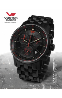 Limousine Grand Chrono Quartz 5654176 ST