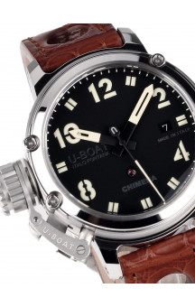 U-Boat Classico 43 mm 7226 Chimera Steel