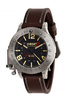 U-Boat 8095 U-42 GMT Titan automatic 50 mm