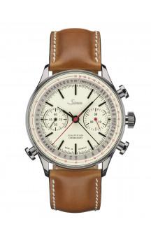 Sinn Art-Nr. 910 Anniversary Split Chronograph Leatherstrap