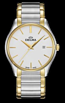 Delma Serrano White Dial 2 tone
